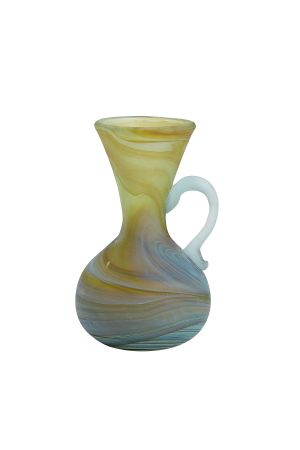 Phoenician Glass Mini Vase (Earth)