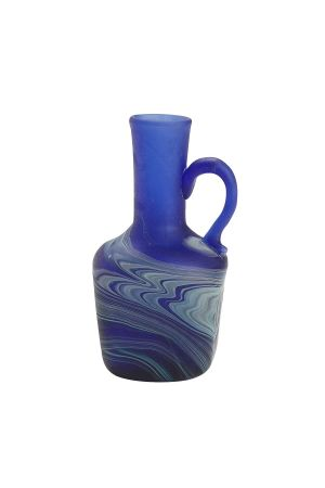 Phoenician Glass Mini Vase (Sea)