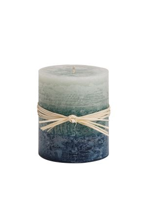 Sea Glass Ombre Candle (sm)