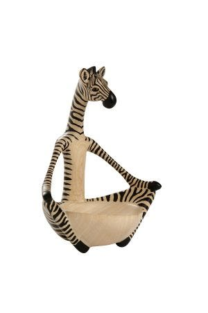Yoga Zebra Bowl