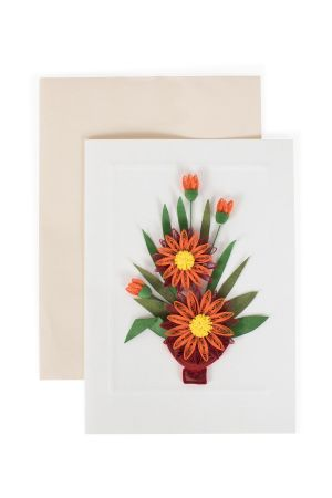 Mum Bouquet Greeting Card