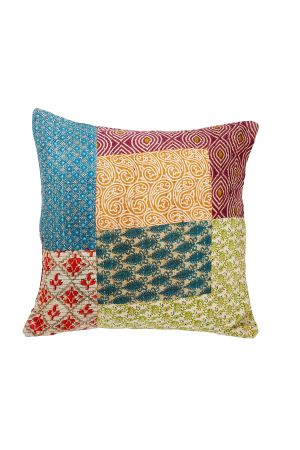 Recycled Sari Square Pillow