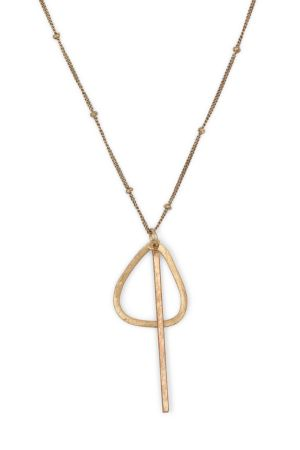 Hold the Line Necklace