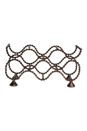 Bike Chain Wine Rack