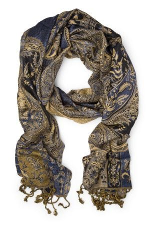 Paisley Fields Scarf