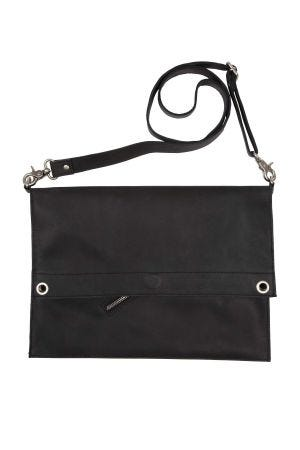 Eco-Leather Black Tote
