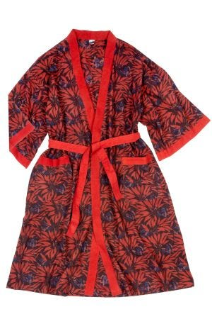 Red & Black Robe