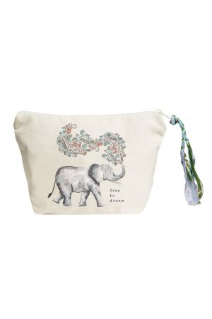 Free to Dream Pouch (Elephant)