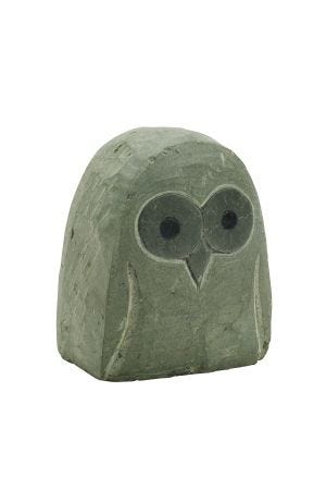 Insightful Owl  Sculpture