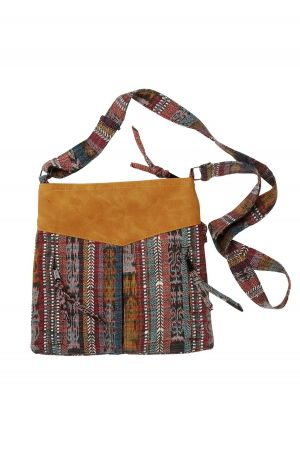 Cuerina & Cloth Bag
